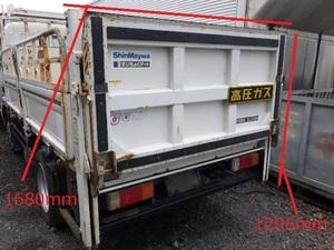 r365-500 ★ パワーゲート 垂直式 ゲート 標準用 新明和 RE06-1103