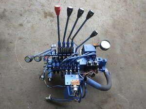 r3625-3 * Unic crane radio-controller electromagnetic valve(bulb) oil pressure valve(bulb) operation lever UR294 2E-0