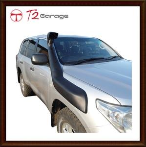 T2GARAGE エアシュノーケルトヨタランドクルーザー V8 LC200 2007 2008 2009 2010 2011 2012 2013 2014 2015 J200 カードレスアップ