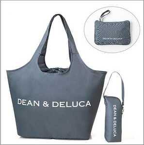 【即決・送料込み】DEAN&DELUCA レジカゴ買い物バッグ エコバック 保冷機能付き ボトルホルダー 新品未開封 GLOW 8月 付録のみ