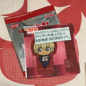 安室透 クリアしおりスタンド SEGAラッキーくじ Red Party Collection 複数購入特典 名探偵コナン 非売品