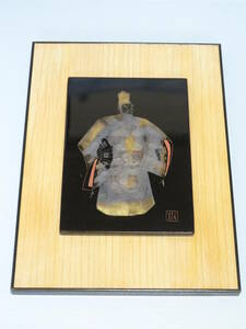 ■昭和レトロ 輪島塗の栞 漆器 美術品 壁掛け 飾り■