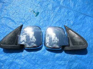 024 Hijet S200V S220G D230G door mirror plating cover left right