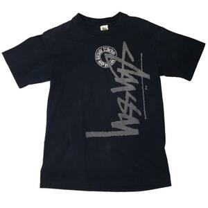 【ビンテージ 90s OLD STUSSY オールド ステューシー 白タグ ロゴ Tシャツ USA製】アメリカ 古着 オールドスケート 黒タグ 紺タグ ラスタ