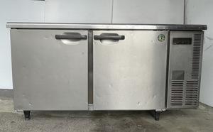 【動作確認済】ホシザキ テーブル形冷凍冷蔵庫 台下冷凍冷蔵庫 2面ドア RFT-150 SNC 1-R形 W1500×D600×H820mm 業務用 厨房機器 中古