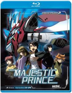【送料込】銀河機攻隊 マジェスティックプリンス 2 全12話(北米版 ブルーレイ) Majestic Prince 2 blu-ray BD