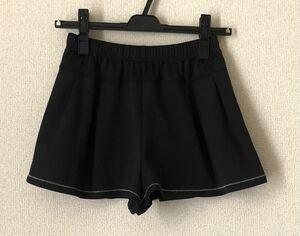 ランニング キュロット ショートパンツ 黒 ランニングウェア ニューバランス テニス ヨガ トレーニング エクササイズ