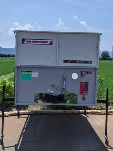 新潟発 グレンタンク G17 GRAIN TANK BL D 石井製作所 200V電源 動作確認済み
