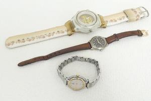 2106-0192●宝市/シーマ/リオベ他/レディース腕時計/3点組/CYMA/LEOBE(梱包サイズ60)