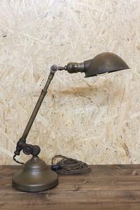 ESL_1 真鍮製 デスクランプ O.C.WHITE インダストリアル スタンドランプ アメリカビンテージ アンティークライト ワークランプ 照明