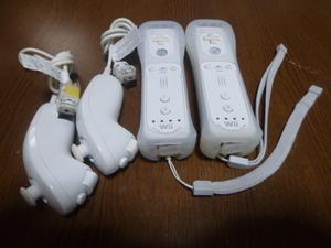 RSJN91【送料無料 動作確認済】Wii リモコン モーションプラス ジャケット ストラップ ホワイト 白 2個セット