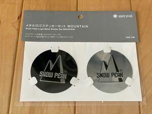 スノーピーク メタルロゴステッカーセット  MOUNTAIN FES-138