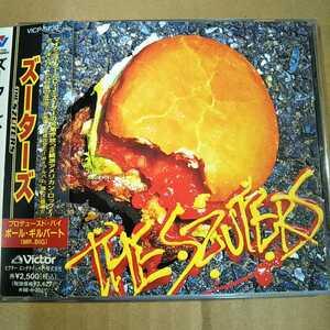 中古CD THE SZUTERS / ズーターズ 国内盤/帯有り/ポール・ギルバート VICP-5739【1511】