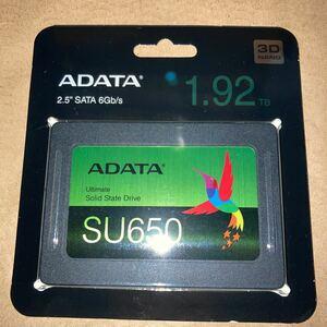 ADATA A-DATA ASU650SS-1T92T-R 1.92TB 新品未開封