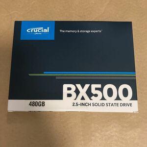 Crucial クルーシャル SSD 480GB BX500 SATA3 内蔵2.5インチ 7mm CT480BX500SSD1