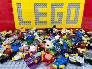 ☆大量☆ レゴ ミニフィグ 100体セット シリーズ色々 ( LEGO 人形