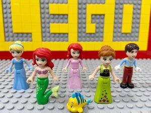 ☆ディズニープリンセス☆ レゴ ミニフィグ アナ雪 シンデレラ リトルマーメイド ( LEGO 人形