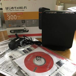 (中古)Buffalo無線LAN親機 WHR-300HP2 エアステーションハイパワー