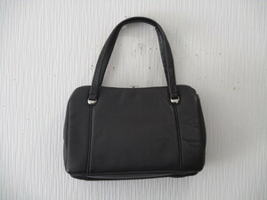 ハンドバッグ メーカー不明 がま口 中古品 ゆうパック80サイズ 1円スタート 同梱対応可能