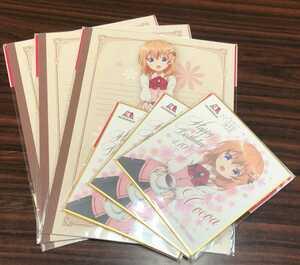 オリジナルノート3本オリジナルミニ色紙3本ご注文はうさぎですか?