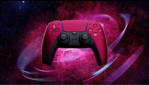 PS5 DualSenseワイヤレスコントローラ コズミックレッド