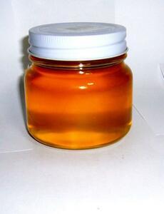 信州産 令和3年度産 天然純正蜂蜜 西洋ミツバチ(トチ蜜 小瓶)300g(2)