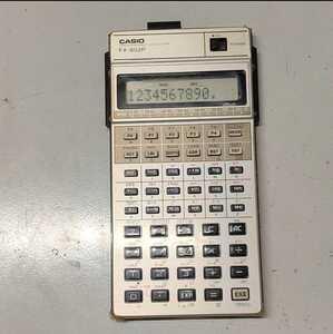 CASIO カシオ プログラマブル関数電卓 FX-602P 昭和レトロ