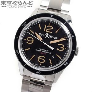 900028565 ベル&ロス Bell&Ross スポーツヘリテージ 時計 腕時計 メンズ 自動巻き オートマチック SS デイト BR123-92-SP 美品