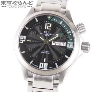 101518080 ボールウォッチ BALL WATCH エンジニアマスター ダイバー 2 時計 腕時計 自動巻 メンズ デイデイト 黒文字盤 DM2020A-SAJ-BKGR