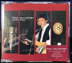 PAUL McCARTNEY / JENNY WREN ( UK盤 CDS アルバム未収録曲入 )