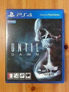 アンティルドーン UNTIL DAWN PS4 (韓国語版)