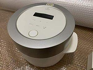 【セール価格♪】バルミューダ 3合炊き電気炊飯器 BALMUDA The Gohan K03A-WH(ホワイト)