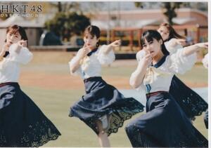 HKT48 田中美久 坂本愛玲菜 渕上舞 君とどこかへ行きたい MVオフショット 生写真