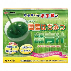ユーワ 国産はちみつ大麦若葉 青汁 3g×30包(a-1685111)