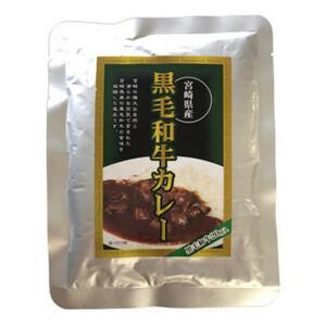 ばあちゃん本舗 宮崎県産黒毛和牛カレー 160g×15個(a-1681204)