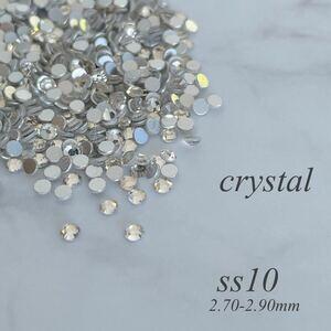 ss10 ガラスストーン ラインストーン 約1440粒 1,080円