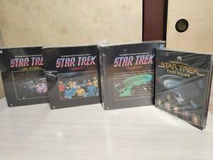 レーザーディスク star trek season1 2 3 episode 1-79 the official files