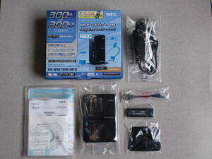 ゜*☆ 送料無料 ☆ 中古美品 ☆ NEC Aterm WR8750N (HPモデル) 無線LANルーター (Wi-Fiルーター) PA-WR8750N-HP/U ☆ おまけ付き ☆*゜