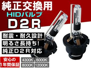 フリード/フリードスパイク GB3/4 GP3■大光量ヘッドライト ロービーム D2R 純正交換HIDバルブ 1年保証