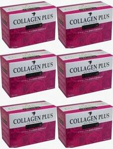 6箱(150袋) コラーゲンプラス PREMIUM 3g×25袋 コーラーゲン、プラセンタ、ヒアルロン酸、乳酸菌の美容成分が一度で手軽に摂れます。