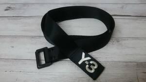 Y-3 adidas × YOHJI YAMAMOTO ワイスリー アディダス ヨウジヤマモト ベルト サイズS ブラック 通年 店舗受取可
