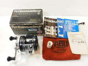 アブ ABU アンバサダー 5600CA エビスフィッシング 81年 右巻き ベイトリール オールドアブ (271-421