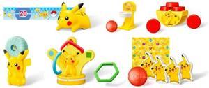ポケモン★マクドナルド ハッピーセット おもちゃ全6種セット★ポケットモンスター