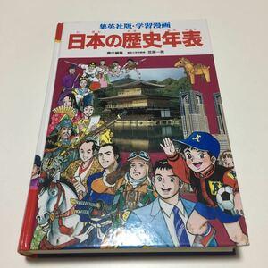 日本の歴史年表 集英社版・学習漫画