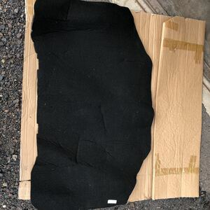 奇跡の新品当時物 未使用品 W126 ベンツ ボンネット裏の断熱シート?防音シート?品番タグシールあり 500SEL 560SEL 300SE