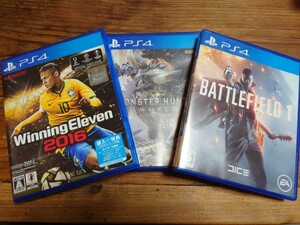 PS4ソフト3本セット PS4ソフト