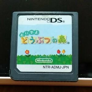 おいでよどうぶつの森 DSソフト  任天堂DS