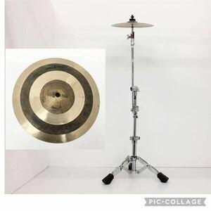 (304s2)旧:ZENN(PLAYTECH) プレイテック ゼン Splash 10インチ スプラッシュ シンバル 10 割れなし / シンバルスタンドセット 打楽器