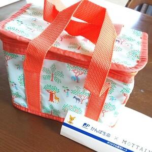 かんぽ生命×MOTTAINAI 保冷バッグ オリジナル保冷トート