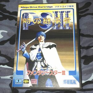 ファンタシースターIII 時の継承者 メガドライブ 動作確認済み 送料無料 匿名配送 ファンタシースター3 PHANTASY STAR PSIII